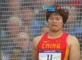 奥运视频-女子铁饼预赛中国李艳凤掷得64.48米