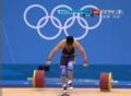 奥运视频-陆永挺举首举失利 举重男子85公斤级