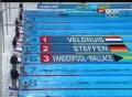 奥运视频-范德弗斯第一名晋级 女子50自半决赛