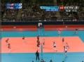 奥运视频-拉尔森双人拦网 女排美国VS塞尔维亚