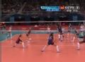 奥运视频-科维奇高点扣球 女排美国VS塞尔维亚