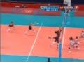 奥运视频-伊洛维奇扣斜线 女排美国VS塞尔维亚