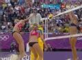 奥运视频-俄罗斯组合进攻失误 沙排女子8强赛