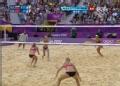 奥运视频-张希跃起强力扣杀 沙排中国VS俄罗斯