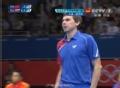 奥运视频-斯卡什科夫反手扣杀 男乒团体淘汰赛