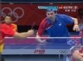 奥运视频-张继科反手抽杀得分 男乒团体淘汰赛