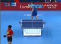 奥运视频-张继科移动中扣杀球 男乒团体淘汰赛
