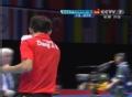 奥运视频-张继科发球得分 男乒团体拿下第一局