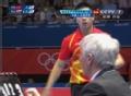 奥运视频-马龙控短球连接抽射 男乒团体淘汰赛