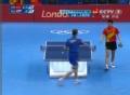 奥运视频-马龙3-0斯巴耶夫 中国男团成功晋级