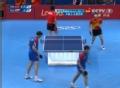 奥运视频-王皓巧妙轻挑球得分 男乒团体淘汰赛