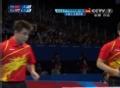 奥运视频-王皓抢位暴抽得分 男乒团体淘汰赛