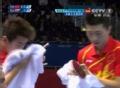 奥运视频-马龙近台抢攻扣杀球 男乒团体淘汰赛