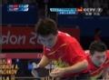 奥运视频-马龙侧身抽吊扣球 男乒团体淘汰赛