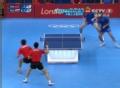 奥运视频-王皓马龙遭滑铁卢 俄罗斯赢双打搬1局