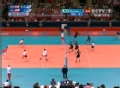 奥运视频-把卡雷近网飞身扣球 男排A组预选赛
