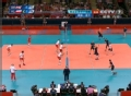奥运视频-把卡雷二号位扣直线 男排A组预选赛