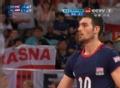 奥运视频-兹加德洛跃起拦网球 男排A组预选赛