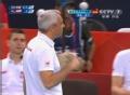 奥运视频-把卡雷发球擦网得分 男排A组预选赛