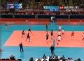 奥运视频-莫兹佐内克跃起暴扣 男排A组预选赛