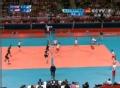 奥运视频-巴特曼1号位跃起暴扣 男排A组预选赛