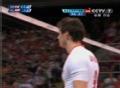 奥运视频-派普斯飞身扣球钻网 男排A组预选赛