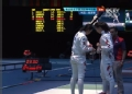 奥运视频-李娜单节1-2比分追平 女团重剑半决赛