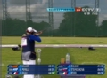 奥运视频-黛尔芬95中位居第二 女子飞碟多向决赛