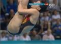 奥运视频-何姿空中动作非常柔美 3米板半决赛