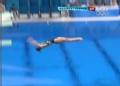 奥运视频-斯特拉顿动作轻盈一跃 女子跳水3米板
