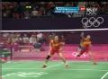 奥运视频-田卿扣杀假动作骗对手 女羽双打决赛
