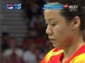 奥运视频-赵芸蕾跟进网前轻吊球 女羽双打决赛