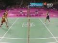 奥运视频-日本选手罚球违例送分 女羽双打决赛