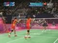 奥运视频-赵芸蕾跳起大力杀球 日本队回球落网