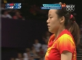 奥运视频-田卿网球扣杀扳平比分 女羽双打决赛