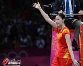 奥运图:羽毛球女单包揽金银 我是冠军