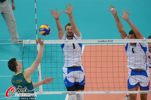 奥运图:意大利男排胜澳大利亚 轻点
