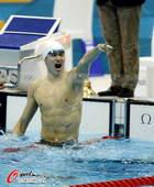 奥运图:男子1500米自决赛 显出欢乐本色
