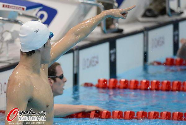 奥运图:男子1500米自决赛 傲视群雄