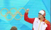 奥运图:男子1500米自决赛 孙杨出场气势十足