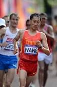 奥运图:陈定20公里竞走夺冠 王镇