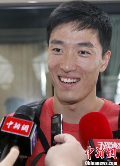 段世杰期望刘翔勇敢面对伤病 称奥运结果难以预料