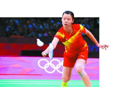 中国选手李雪芮在比赛中。新华社发