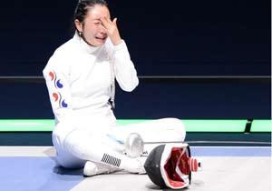 国际剑联授韩国静坐痛哭女特别奖 赞其体育精神