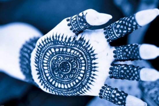 印度/揭秘印度姑娘出嫁前都会做的事(组图)