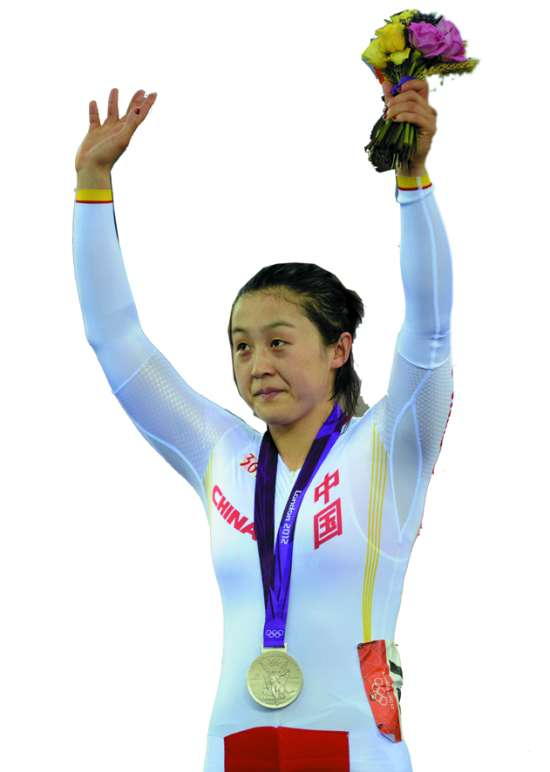 """对于结果郭爽表示满意,她说:""""比赛竞争非常激烈,我对获得银牌感到高兴。"""""""