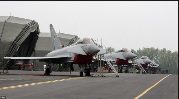 台风战役机屡次起降捍卫奥运