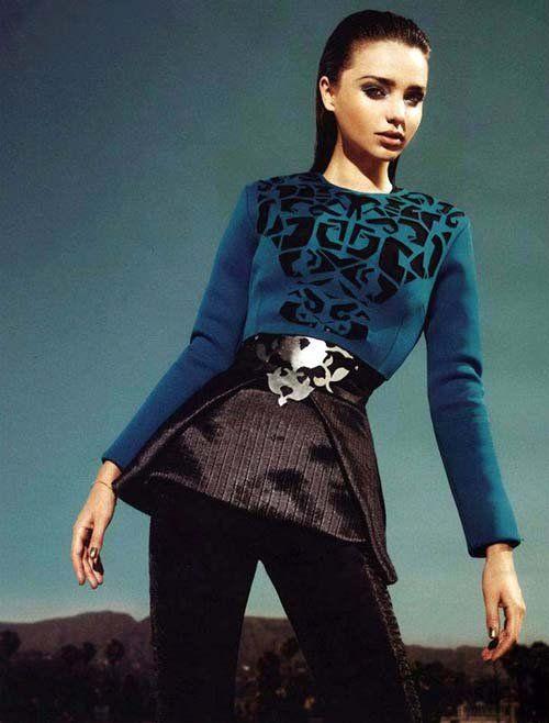 米兰达·可儿新封面被批难看。
