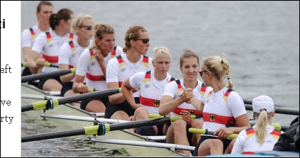 德国女子赛艇8人单桨代表队