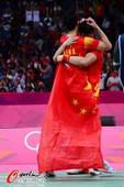 奥运图:风云组合实现奥运夺冠梦 胜利的拥抱